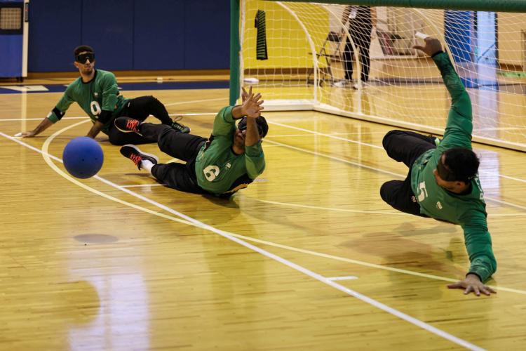 Paralimpíada: Favorito ao ouro, Brasil estreia com vitória contra a Lituânia no goaball masculino